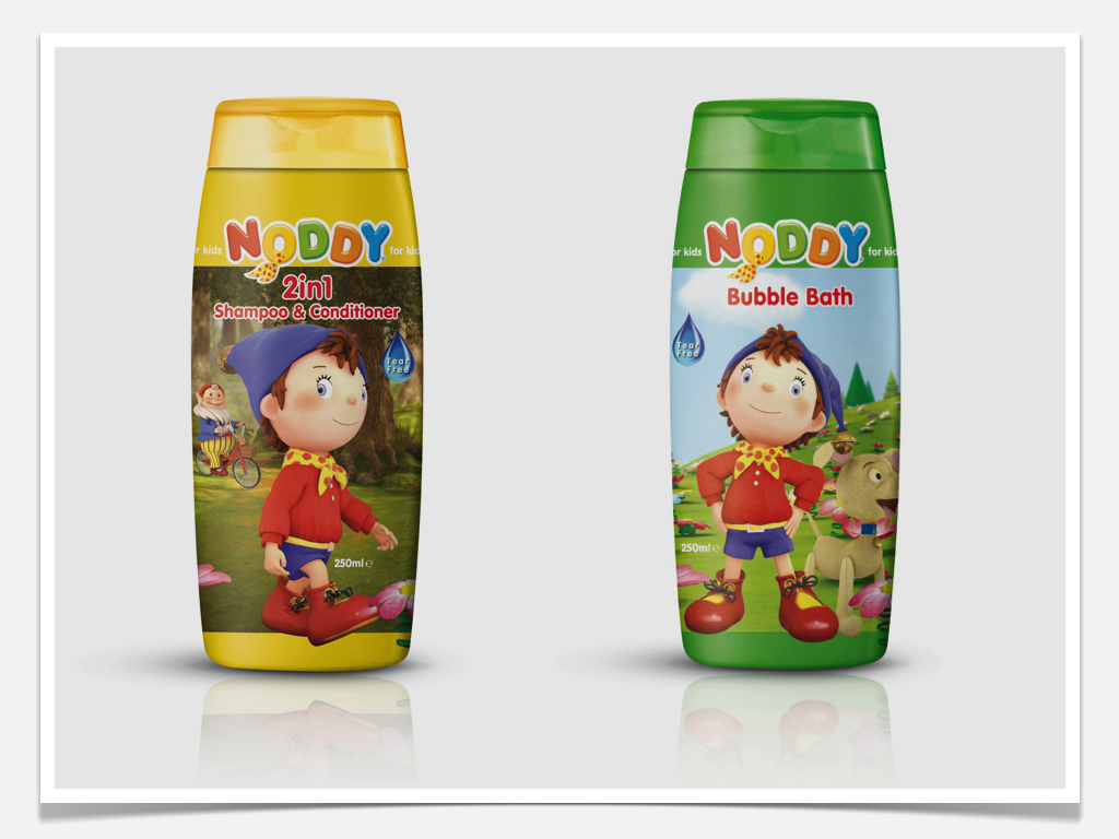 Noddy Licensed Packaging Design