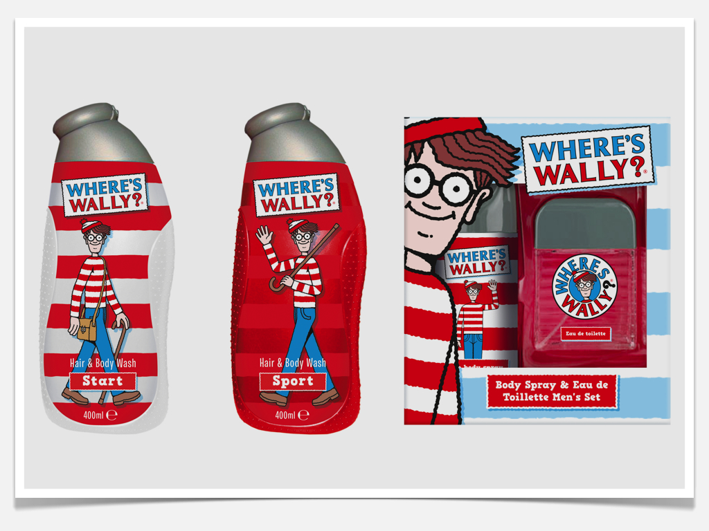 Where's Wally Licensed Packaging