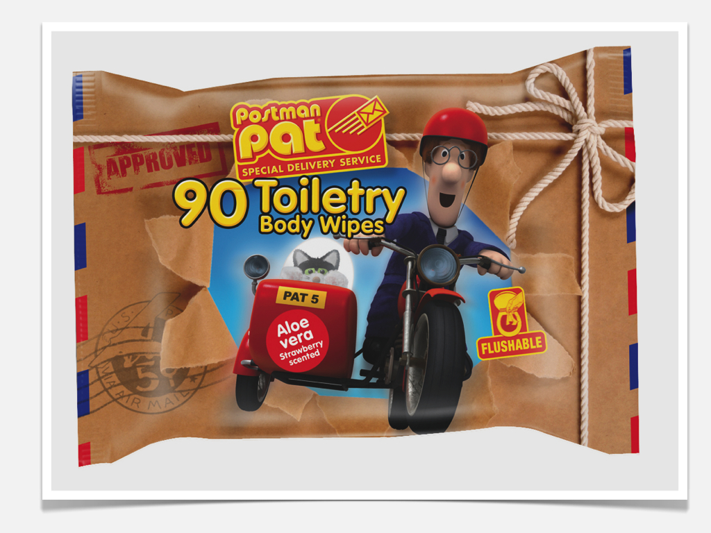 Postman Pat Licensed Packaging