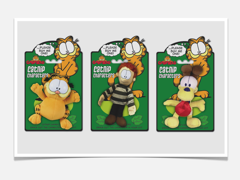 Garfield Licensed Pet Packaging