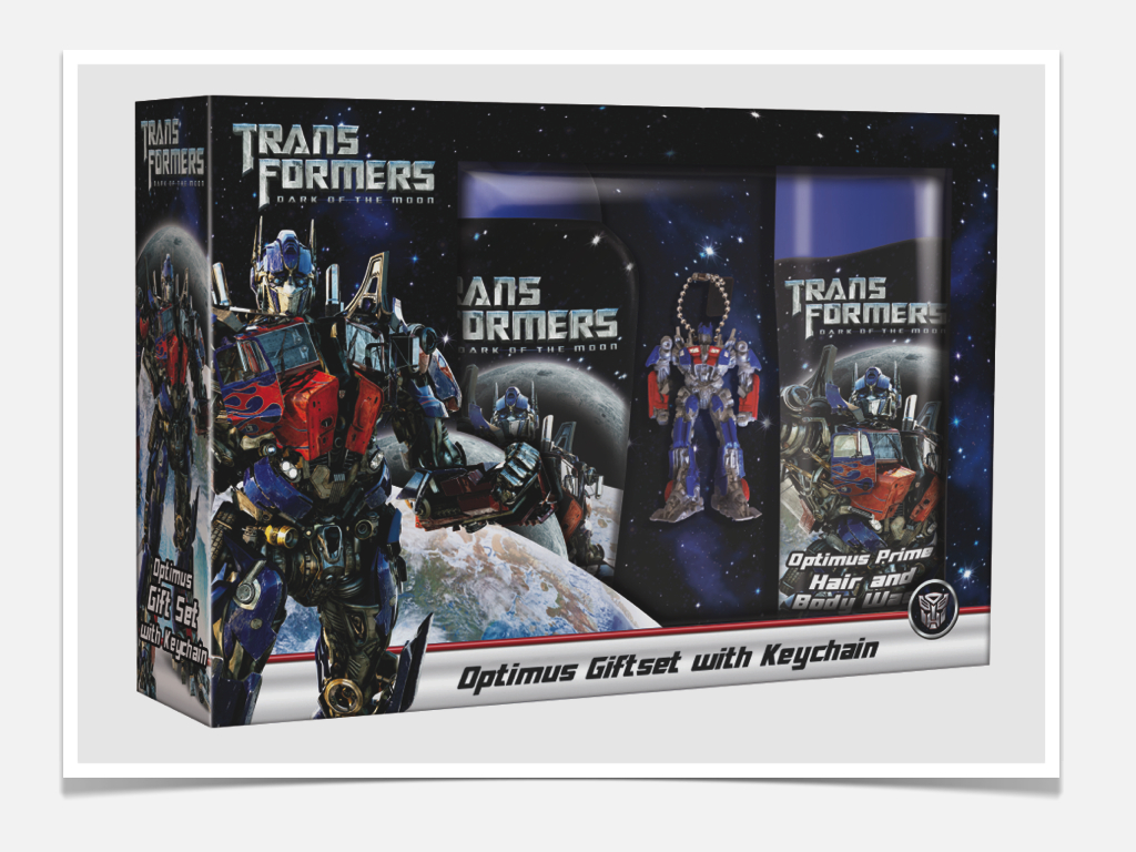 Transformers Licensed Packaging
