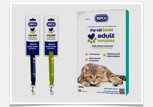 RSPCA Packaging