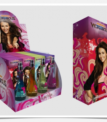 Nickelodeon Victorious Packaging